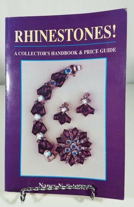 Vintage Rhinestone Collector Handbook By Nancy N Schiffer Vintage Rhinestone Rhinestone Cool Things To Buy