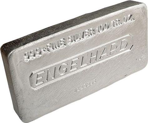 1000 Troy Ounces Engelhard Silver 999 Pure Bullion Bars Investment Metal Gold Bullion Coins Silver Bullion Gold Supplies