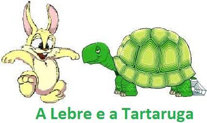 Lebre E A Tartaruga Bmp 427 254 Com Imagens Historias