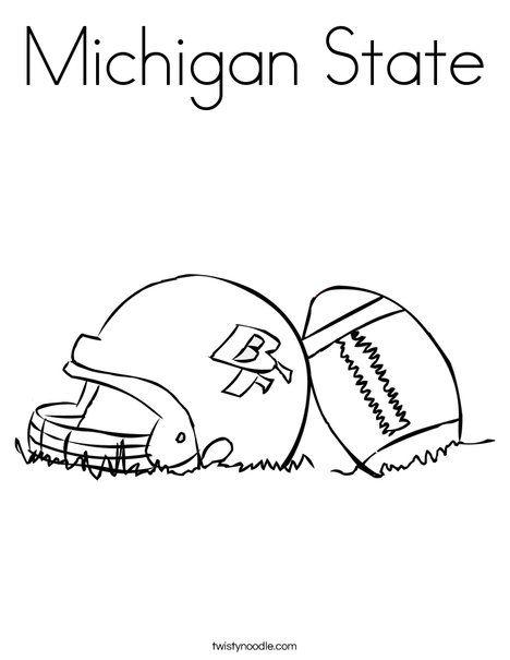 Michigan Football Helmet Coloring Pages In 2020 Football Coloring Pages Coloring Pages Michigan Football Helmet