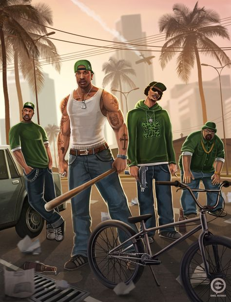 GTA San Andreas by EmilGoska on @DeviantArt