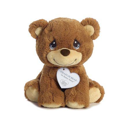 "Bear Angel Plush Stuffed Animal Cute Cuddly Soft Precious Moments 8/"" Charlie"