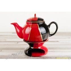 Dzbanek Z Podgrzewaczem Sitko 1l Czarny Mieroszow Tea Pots Tea Tableware