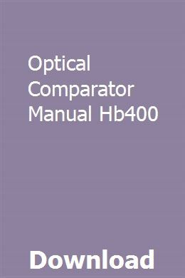 "Suburban tool 14"" mv-14, optical comparator, operations manual 
