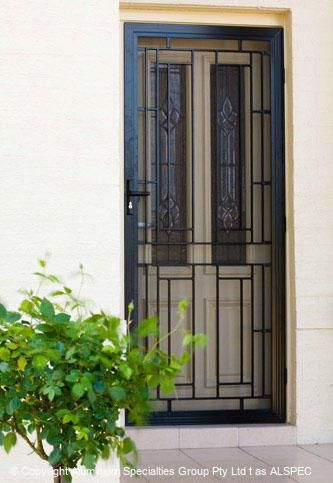 Aluminium Cast Panels Security Screen Door Decorative Screen Doors Security Door