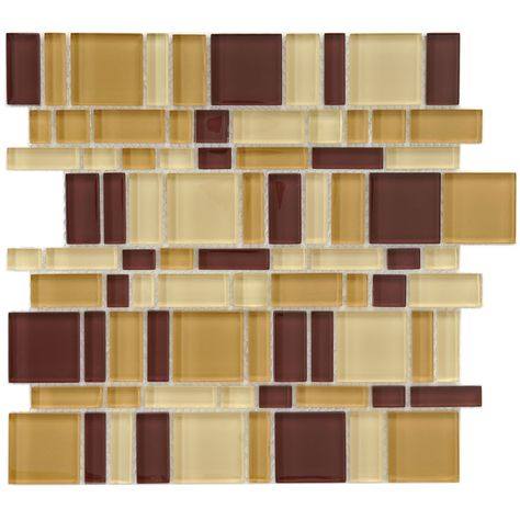 Somertile 11 75x11 75 Inch Reflections Magic Suede Glass Mosaic Wall Tile 10 Tiles 9 6 Sqft Mosaic Glass Mosaic Tiles Glass Mosaic Tiles