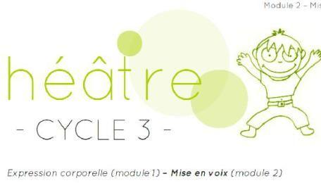 Theatre Autour De La Voix Cycle 3 Cycle Expression Corporelle Poesie Cm2