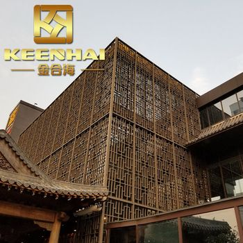 Powder Coated Aluminium Alloy Facade Panel Aluminum Wall Cladding Sheets View Aluminum Cladding Sheets Keenhai Product Details From Foshan Keenhai Metal Produ Wall Cladding Facade Panel Aluminum Wall