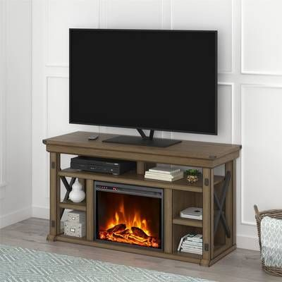 Wyatt Infrared Tv Stand For Tvs Up To 48 With Fireplace