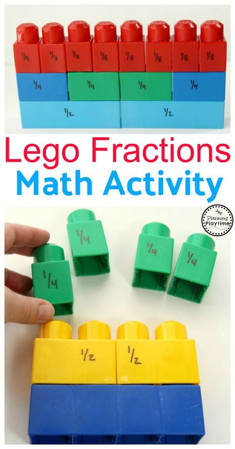 Lego Fractions Math Activity for Kids. So fun! More about math .-Lego Fractions Math Activity for Kids. So fun! Mehr zur Mathematik und Lernen al… Lego Fractions Math Activity for Kids. So fun! More on math and learning in general at Zentral-machen. Fraction Activities, Math Activities For Kids, Math For Kids, Fraction Games, Space Activities, Educational Games For Kids, Educational Websites, Educational Activities, Kids Fun
