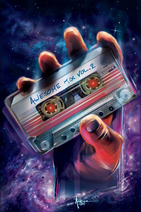 Guardians of the Galaxy - VOL2- Vector art tribute