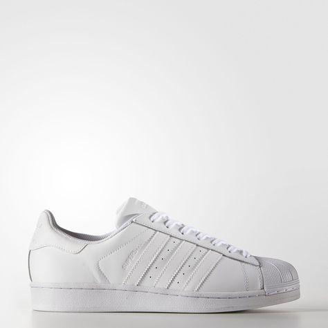 adidas superstar all white sale