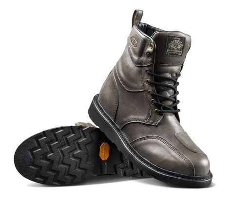 Roland Sands Design Fresno Perforated Mens Street Motorcycle Shoes 8 Black