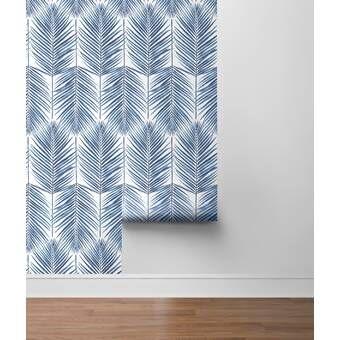 House Of Hampton Grindle 18 L X 20 5 W Peel And Stick Wallpaper Roll Quatrefoil Wallpaper Peel And Stick Wallpaper Peel Off Wallpaper