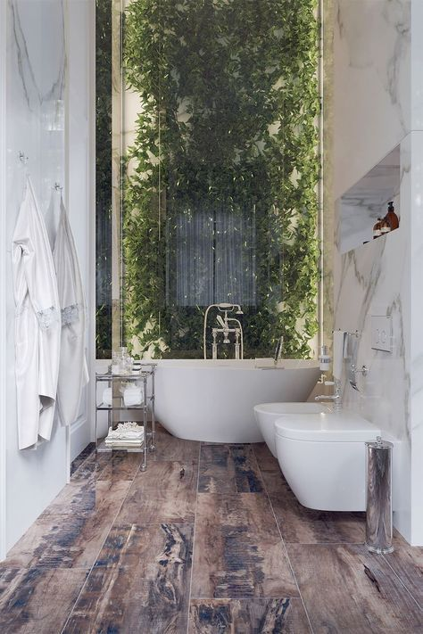 50 Luxury Bathrooms And Tips You Can Copy From Them Spa Bathroom Design Bathroom Design Trends Bathroom Design Luxury