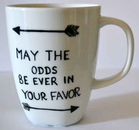 The Hunger Games | 13 Awesome Literary Mugs That Will Make Any Word Nerd's Morning Brighter