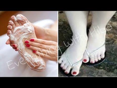 والله وضعتها على التشققات باقدامي فاصبحت ناعمة كالاطفال بيضاء كالثلج ترطيب الرجلين وازالة التشقق Youtube Beauty Care Skin Care Sport Shoes