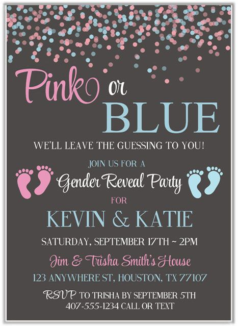 Pin On Gender Reveal Party