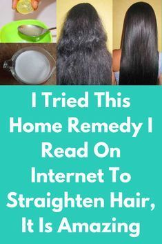 I Tried This Home Remedy I Read On Internet To Straighten Hair It Is Amazing Strengthen Your Hair Follicle Fizzy Hair Treatment Fizzy Hair Straight Hairstyles