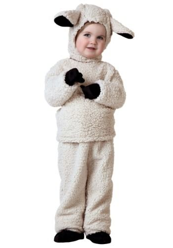 Child Sheep Costume Christmas Nativity Fancy Dress Outfit