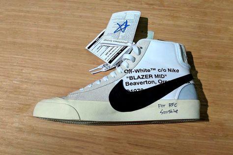 93882d9b485d Here s Your Best Look at the Off-White™ x Nike Blazer Mid