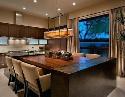 67 Ideas For Kitchen Island Dining Table Combined Kitchen Island Dining Table Kitchen Island And Table Combo Kitchen Island Table