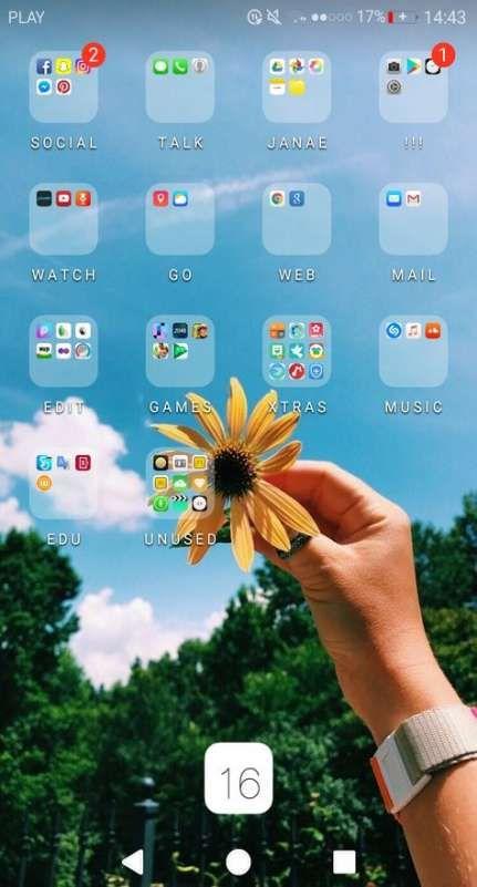 Best Home Screen Huawei 57 Ideas Phone Organization Iphone Organization Homescreen