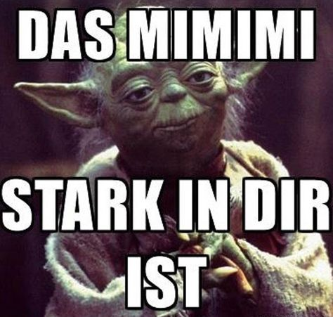 Nicht mehr lange- dann ist Wochenende! #EMP #Wochenende #Starwars #Yoda
