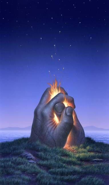 Embers turn to stars by Jerry LoFaro