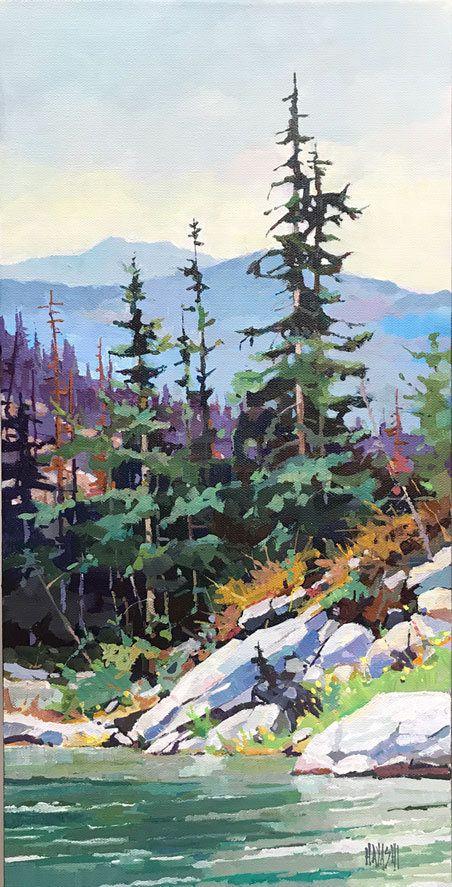 Randy Hayashi Artist Landscape Art Landscape Paintings