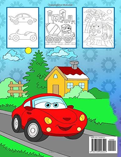 Le Mie Automobili Un Fantastico Libro Da Colorare Per Gli