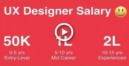 Ux Designer Web Designer Graphic Designer Salary In India Wedding Hairstyles Webdesignersalary Graphic Designer Salary Online Web Design Web Design