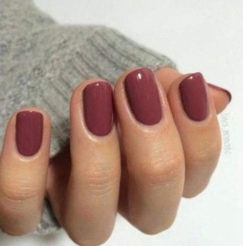 Love this color for the Autumn! Recreate this look with SensatioNail Color 'So Chic' and if you want a little more sparkle use 'Ravishing Raisin!'