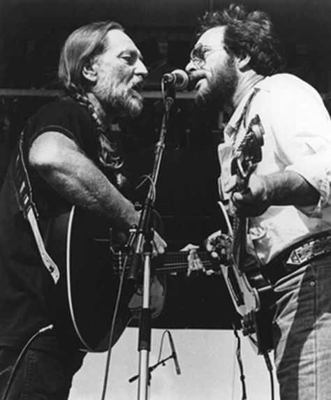 Willie Nelson and Merle Haggard