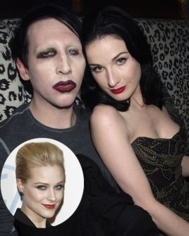 After news spread that Marilyn Manson had been having an affair with his 'Phantasmagoria: The Visions of Lewis Carroll' costar Evan Rachel Wood, Dita Von Teese filed for divorce from the rocker in Wood and Manson made their love public in