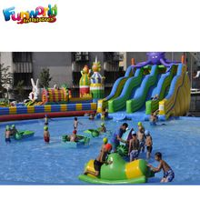 commercial inflatable water slide for sale china,octopus
