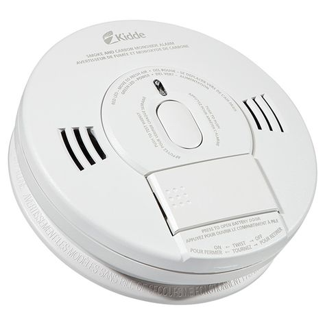 Kidde Battery Operated Smoke And Carbon Monoxide Detector Cp9000ca Rona Carbon Monoxide Detector Gas Detector Appliance Delivery