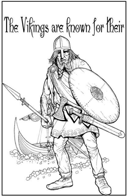 Sketches de Andy Bialk para a Dreamworks Character design - new football coloring pages vikings