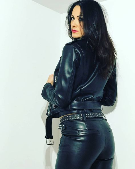 Leather is my confort zone....