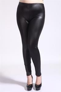 High Elastic Thin Faux Leather Leggings Large Size S-5XL Imitation Leather Pants