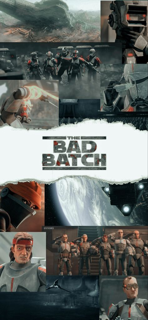 the bad batch lockscreen