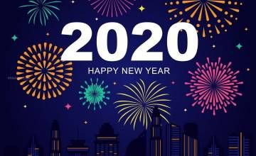Happy New Year 2020 Hd 1080p Wallpapers In 2020 Twitter Backgrounds Pink Skull Wallpaper Pink Skull