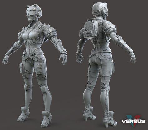 Https Www Artstation Com Artwork 0v83e Gameloft Character Art Character Design