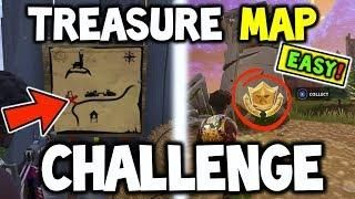 Fortnite Follow The Treasure Map Found In Anarchy Acres Easy Guide Challenge Battle Royale Treasure Maps Fortnite Map