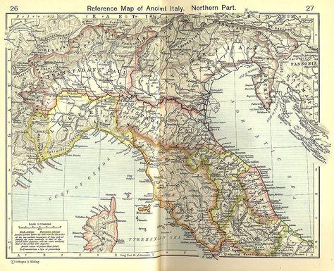 Gli Arcani Supremi (Vox clamantis in deserto - Gothian): Mappa dell'Italia del…