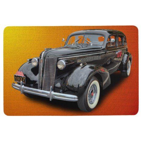 1937 Vintage Car Floor Mat Car Floor Mats Classic Cars Vintage