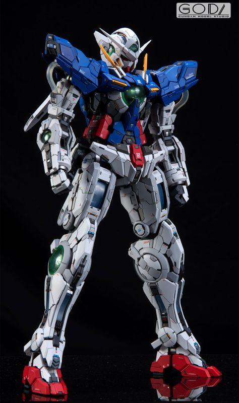 Custom Build: PG 1/60 Gundam Exia [Detailed] - Gundam Kits Collection News and Reviews