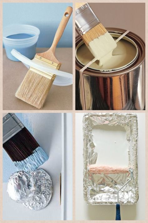 thursday's tip of the week - painting tips... Okay, that doorknob one is pretty smart.