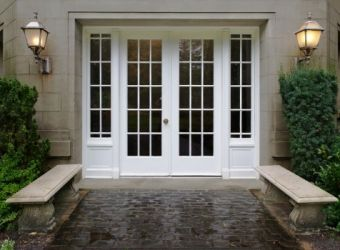 love the idea of having this wall of bi-fold doors that looks farmhouse and not modern   Interior Barn Doors   Pinterest   Bi fold doors Doors and Joinery & love the idea of having this wall of bi-fold doors that looks ... pezcame.com