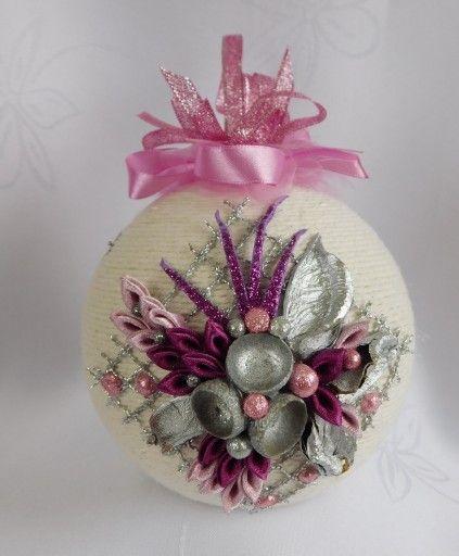 Bombka Sznurkowa Na Choinke Prezent Rekodzielo 8098311932 Oficjalne Archiwum Allegro Christmas Ornaments Xmas Ornaments Christmas Crafts